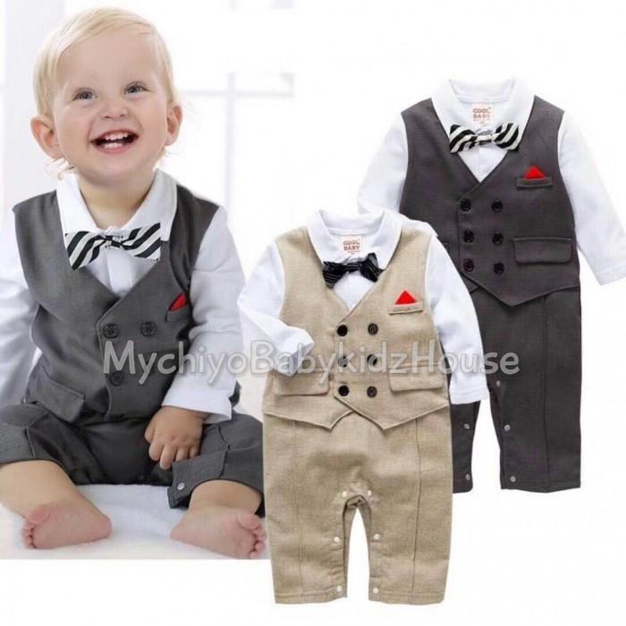 pakaian anak import ROMPER GENTLEMAN 2489