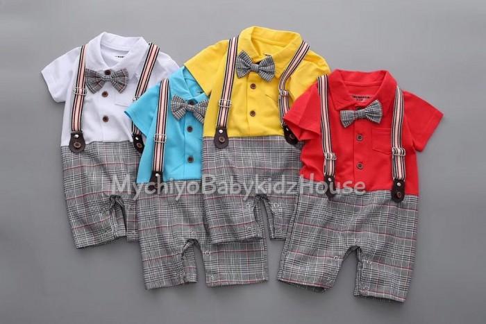pakaian anak import ROMPER GENTLEMAN 2503