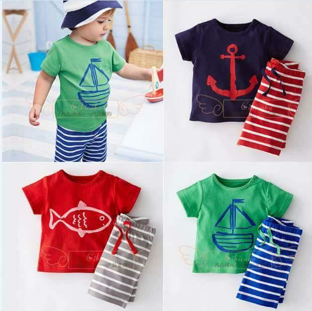 pakaian anak import SETELAN 2255