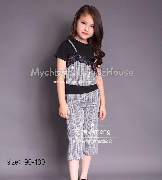 pakaian anak import SETELAN EXCLUSIVE DE15 JUNIOR