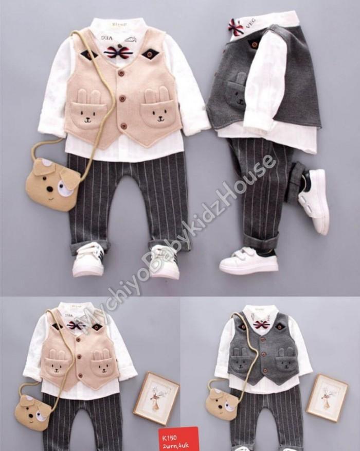 pakaian anak import SETELAN GENTLEMAN 2512