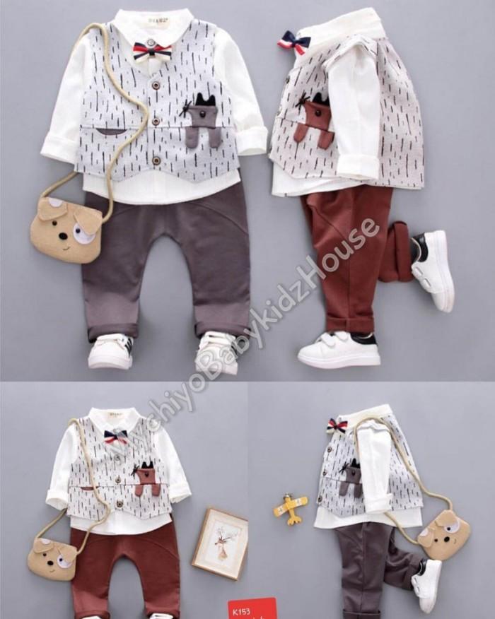 pakaian anak import SETELAN GENTLEMAN 2513