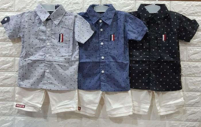 pakaian anak import SETELAN KEMEJA CASUAL