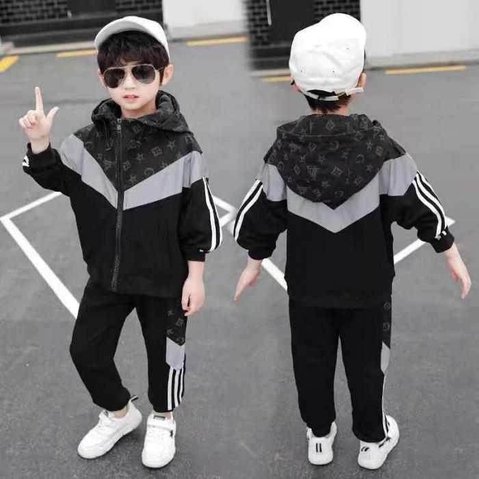 pakaian anak import SETELAN LIS SAMPING
