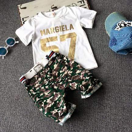pakaian anak import SETELAN MARGIELA 57