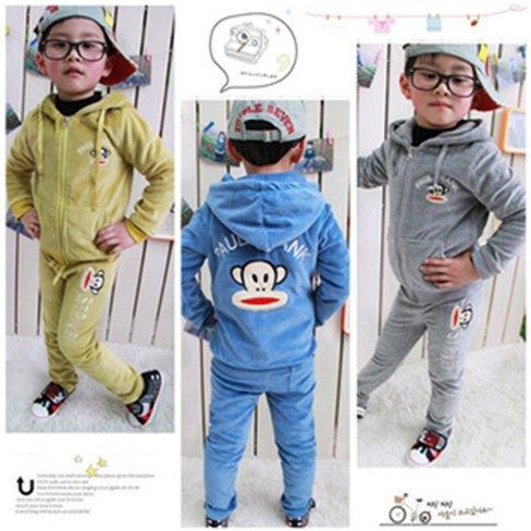 pakaian anak import SETELAN PAUL FRANK