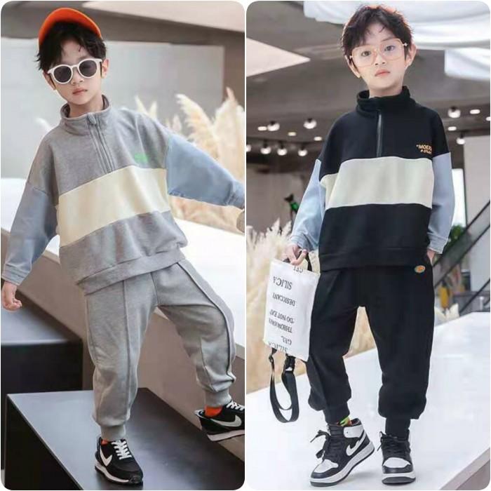 pakaian anak import SETELAN SALUR SLETING