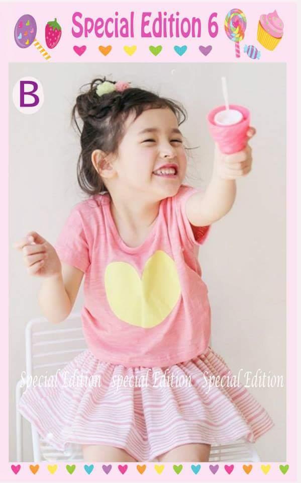 pakaian anak import SETELAN SE6 B