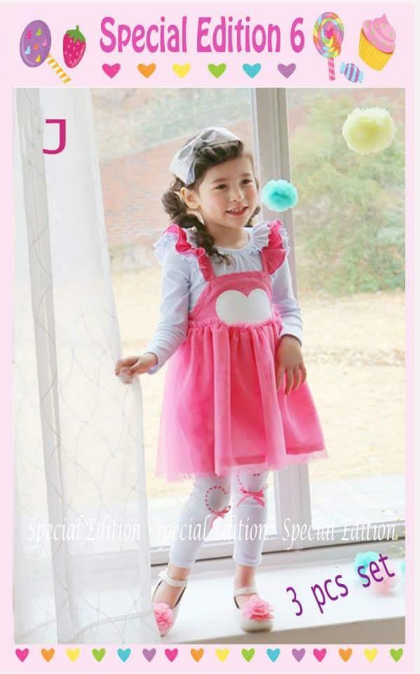pakaian anak import SETELAN SE6 J