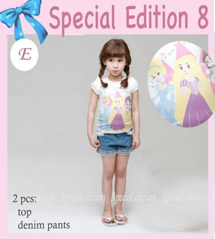 pakaian anak import SETELAN SE8 E