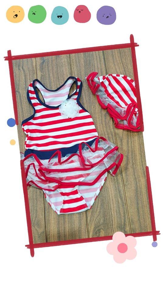 pakaian anak import SWIMSUIT GARIS2