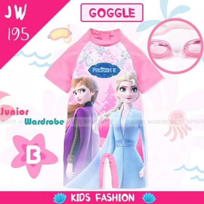 pakaian anak import SWIMSUIT JW 195-B GIRL