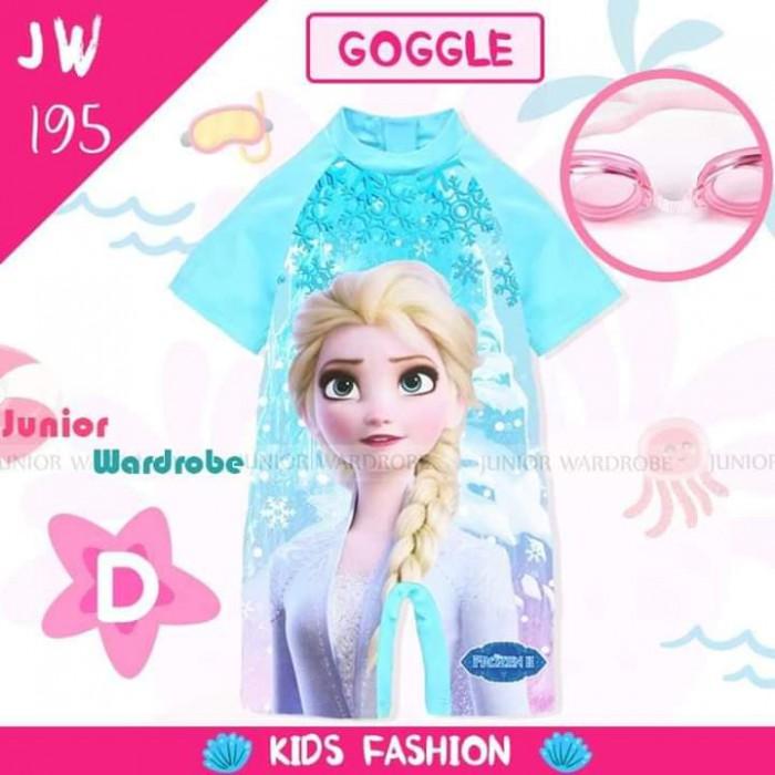 pakaian anak import SWIMSUIT JW 195-D GIRL