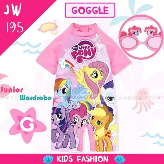 pakaian anak import SWIMSUIT JW 195-G GIRL