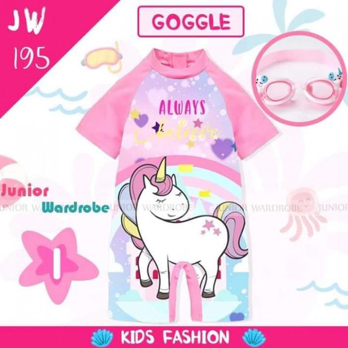 pakaian anak import SWIMSUIT JW 195-I GIRL