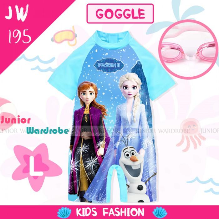pakaian anak import SWIMSUIT JW 195-L GIRL