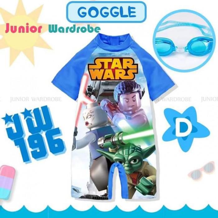 pakaian anak import SWIMSUIT JW 196-D BOY