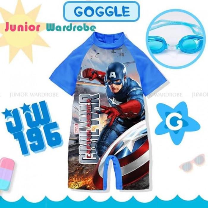 pakaian anak import SWIMSUIT JW 196-G BOY